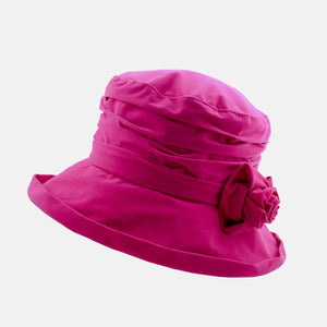 Water Resistant Velour Packable Hat