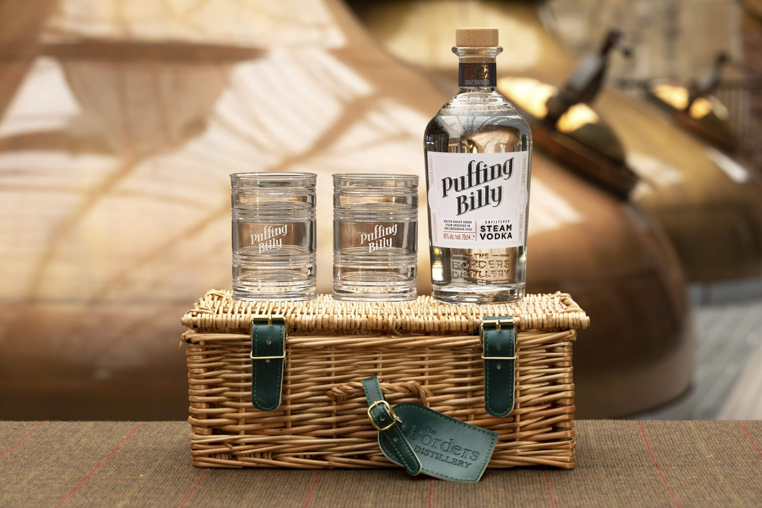 Puffing Billy Steam Vodka Hamper