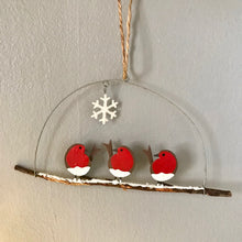Load image into Gallery viewer, Christmas Robins - Rockin'