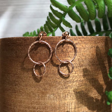 Load image into Gallery viewer, Florence Double Hoop Earrings