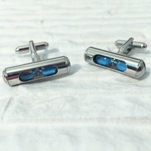 Load image into Gallery viewer, Sand Timer Cufflinks
