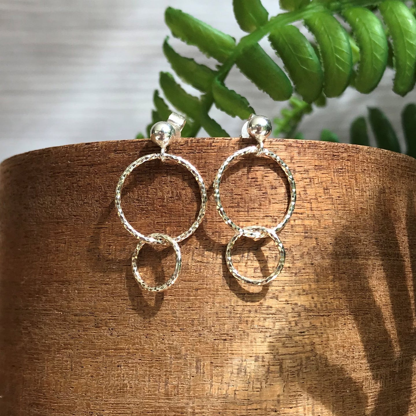 Florence Double Hoop Earrings