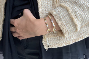 Casablanca 2 Layered Bracelet Stack