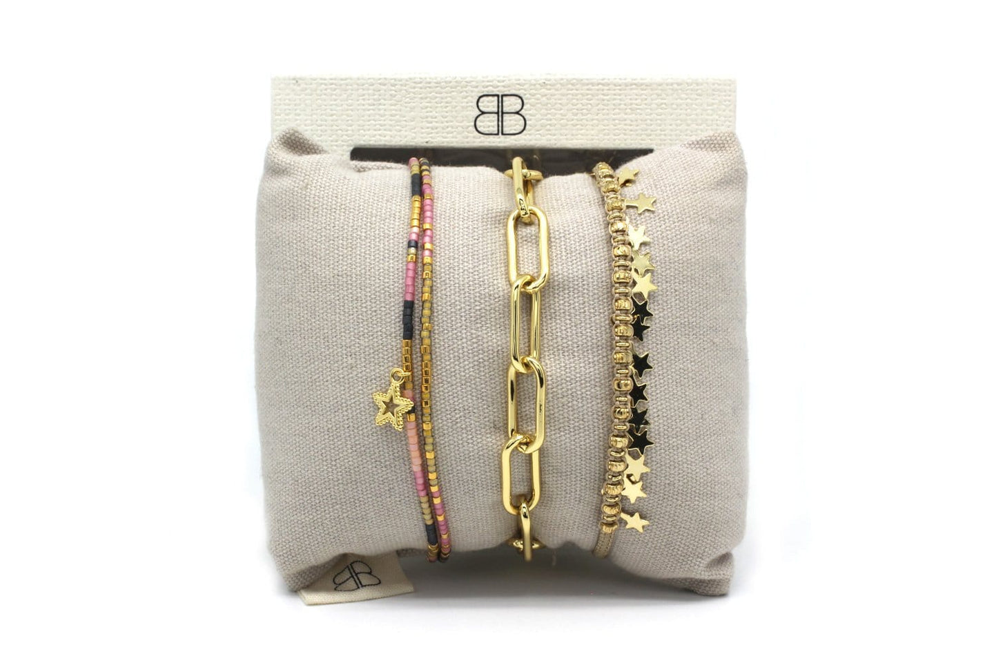 Zibo 3 Layered Bracelet Stack