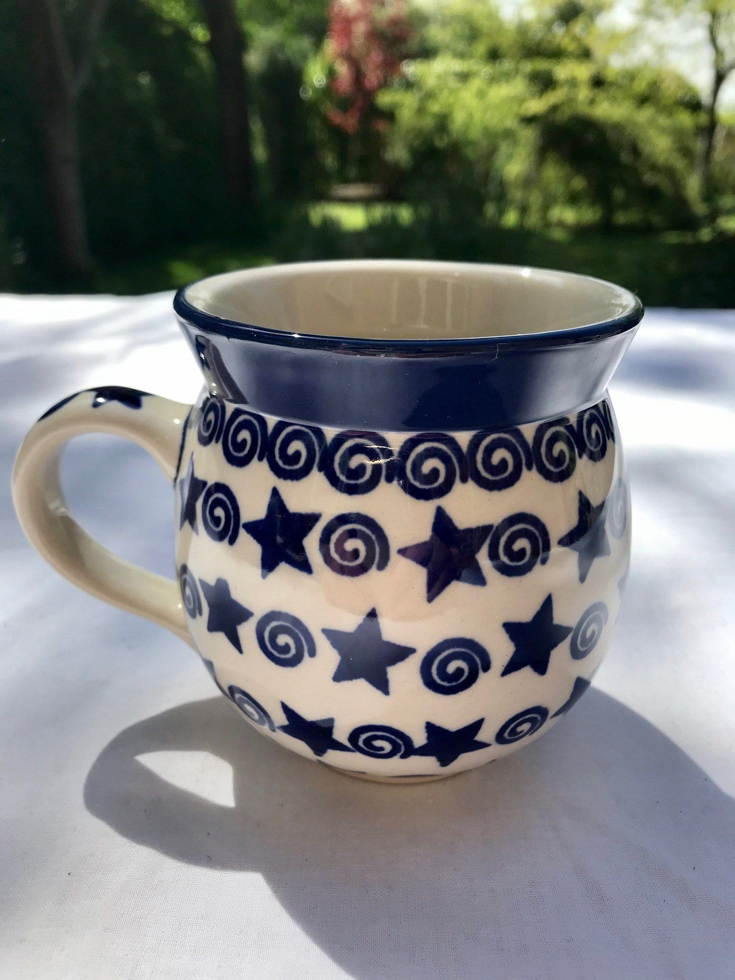 Stars and Swirls Medium Mug