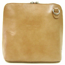 Load image into Gallery viewer, Ladies Vera Pelle Italian Leather Small Micro Cross Body Shoulder Bag