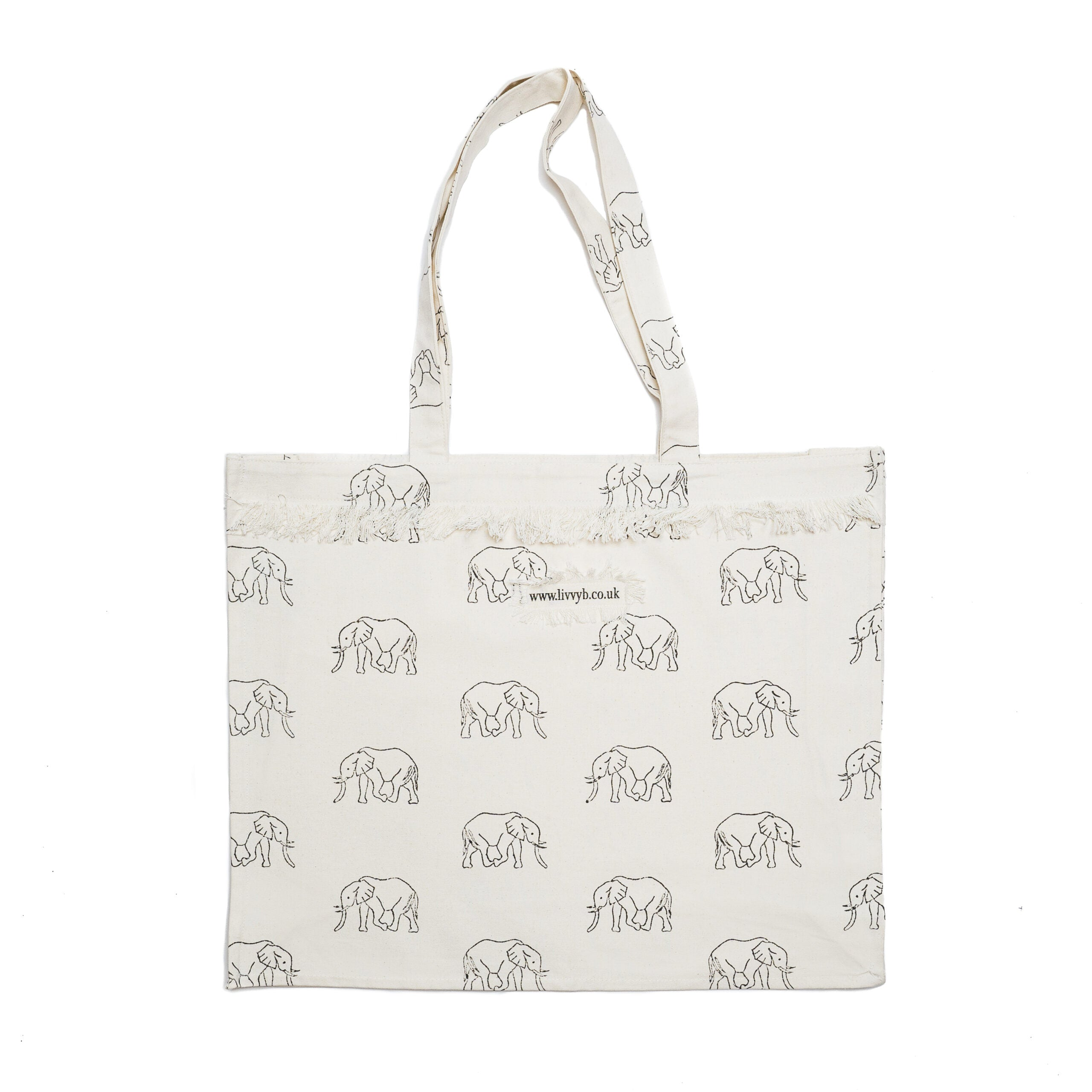 Grey Elephant Bag