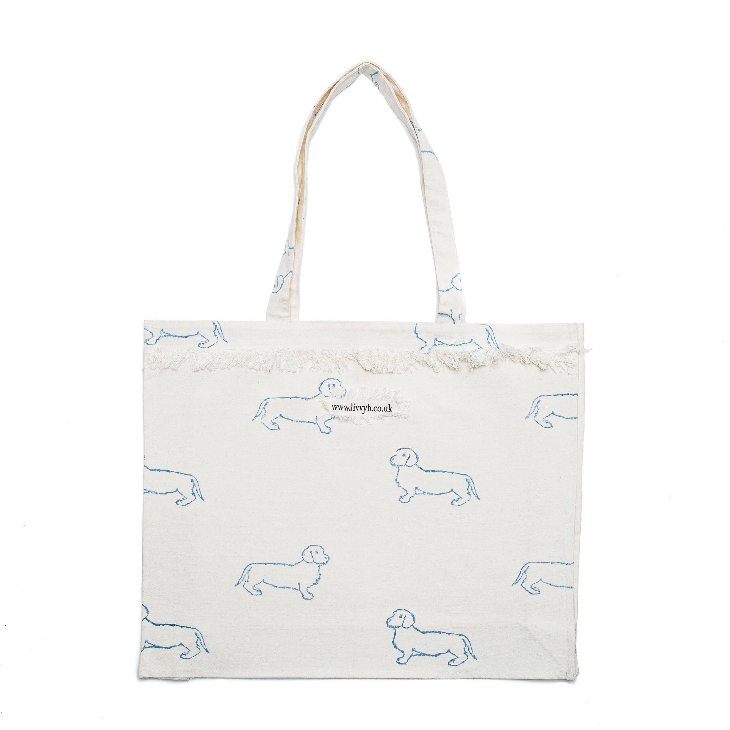 Blue Dachshund Bag