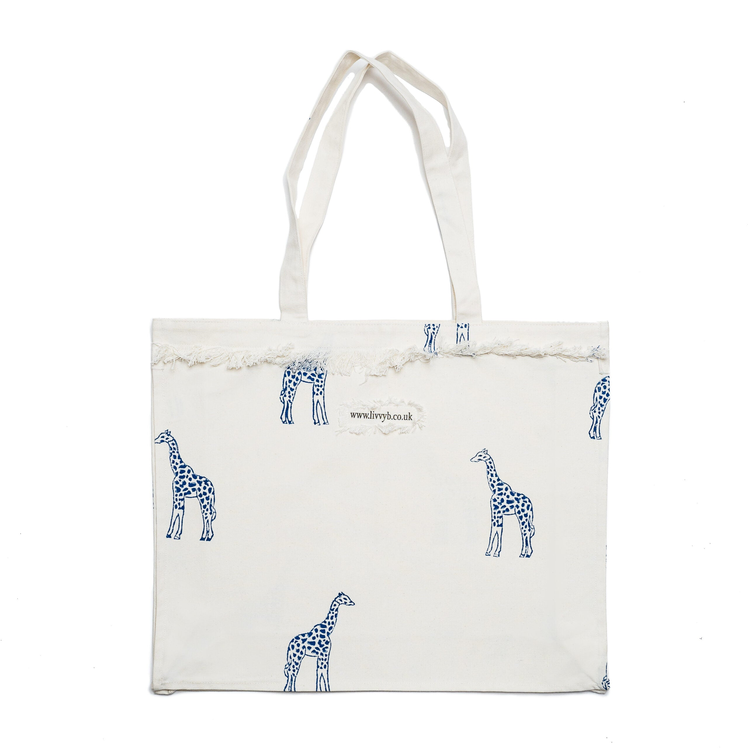 Blue Giraffe Bag