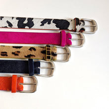 Load image into Gallery viewer, Delila Cow Print Belt