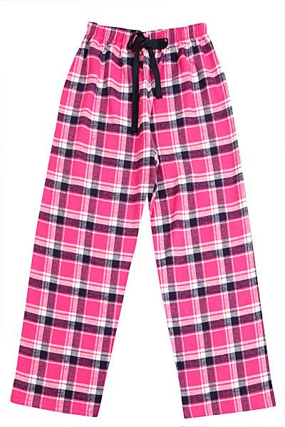 Brushed Pink/Navy Pyjama Bottoms