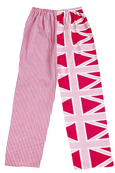 Pink Union Jack Pyjamas Bottoms