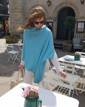 Load image into Gallery viewer, Cashmere Blend Classic Poncho - Various Colours