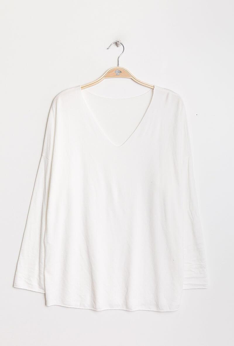 Winter White Issy Top