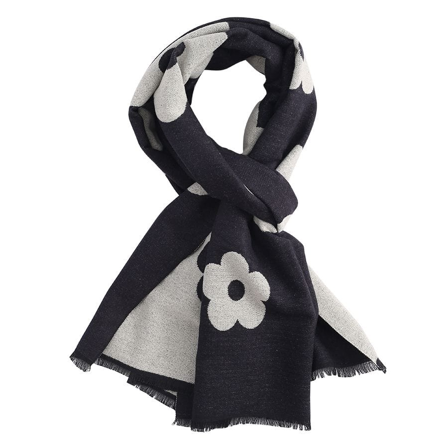 Terry Flowers Scarf 3045