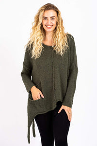 Side Tie Up Jumper 2961