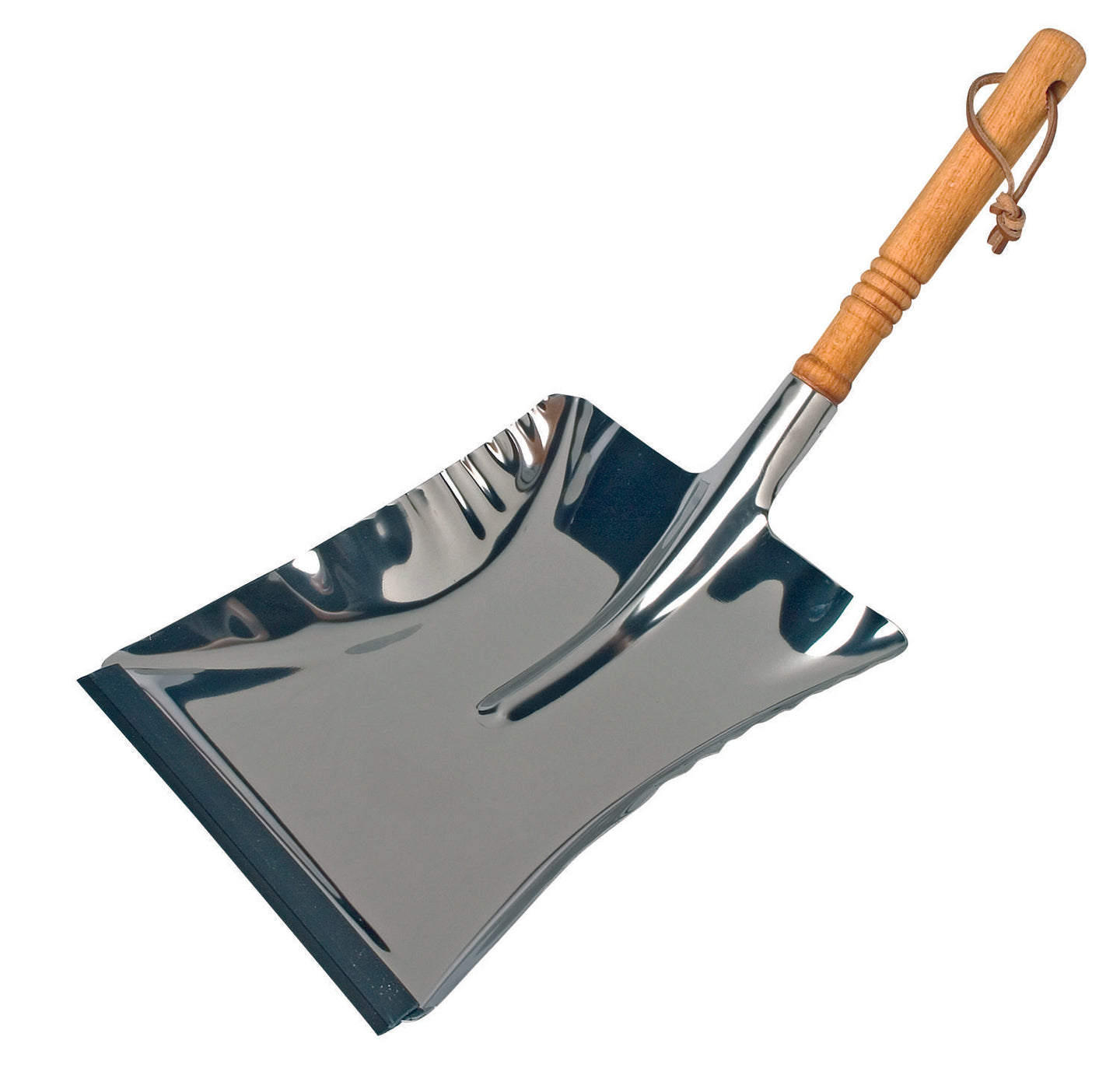Redecker Stainless steel dustpan - 33cm x 45cm long