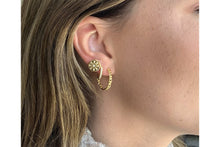 Load image into Gallery viewer, Mathis Gold Hoop Earrings