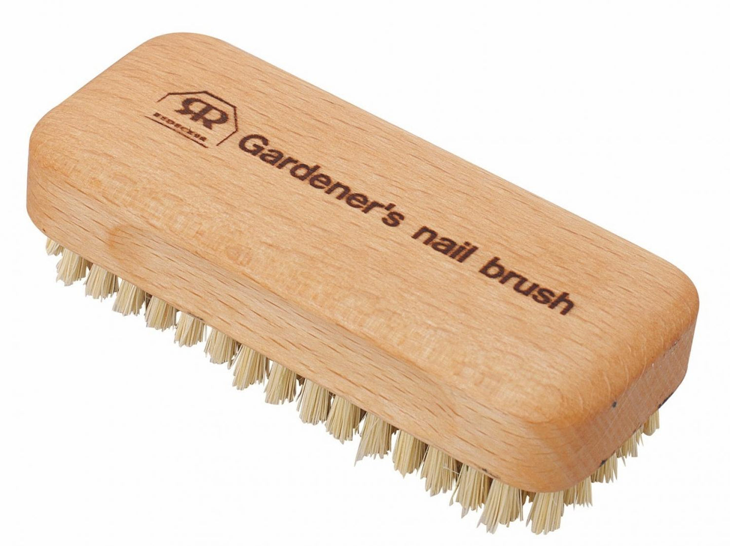 Redecker Gardener's Nail Brush - 4.5cm wide x 10.5cm long