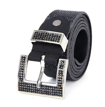 Load image into Gallery viewer, Sparkly Black Belt - Medium