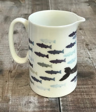 Load image into Gallery viewer, Size 2 Jug- Half pint - WHALE design