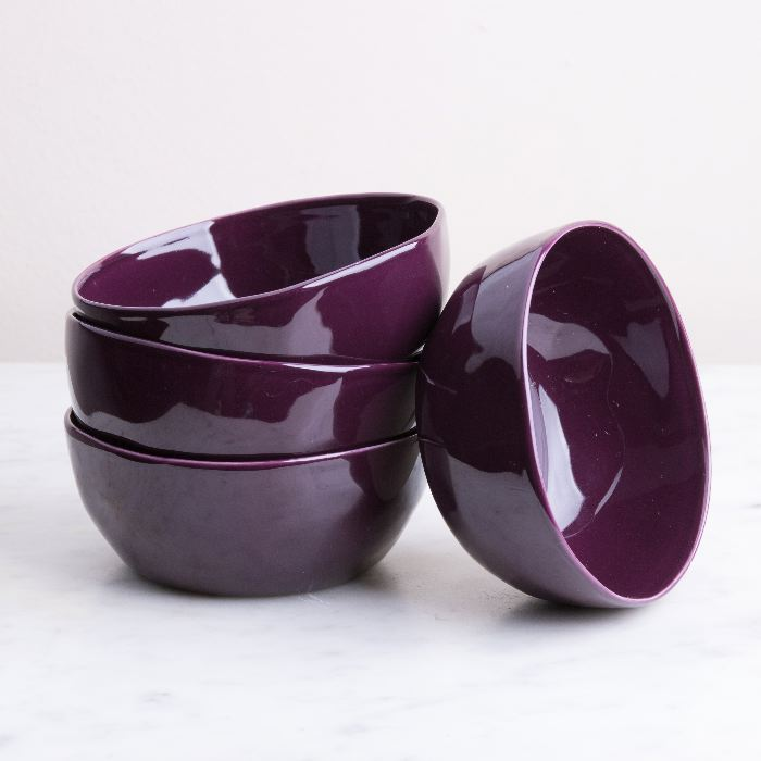 Large Aubergine Dipping Bowl