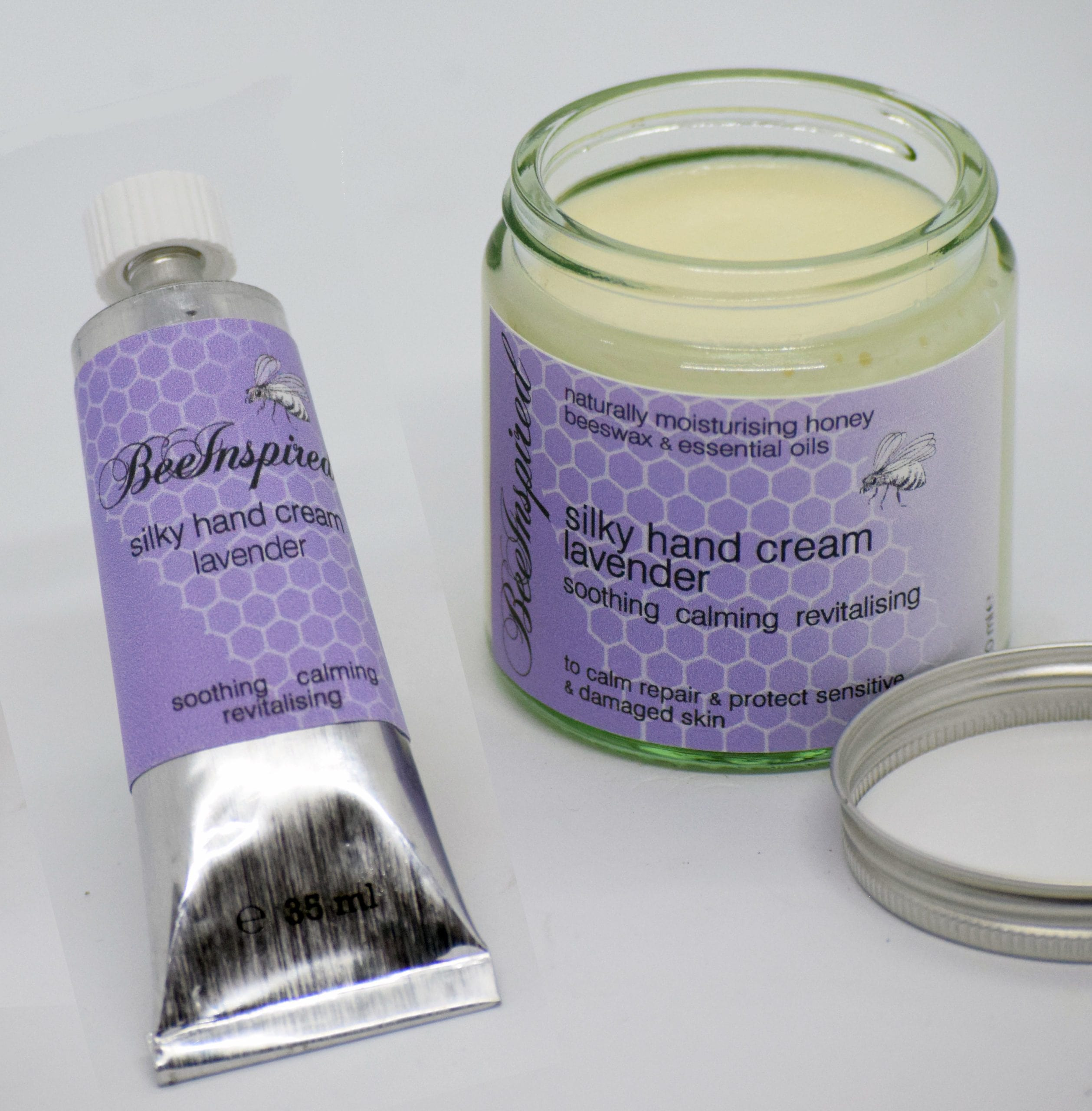 Silky Hand Cream - Lavender - Soothing Calming and Revitalising