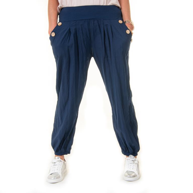 Navy Harem Pants