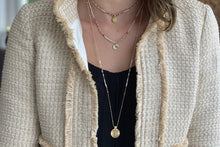 Load image into Gallery viewer, Boreas Pink & Gold 3 Layering Necklace Set