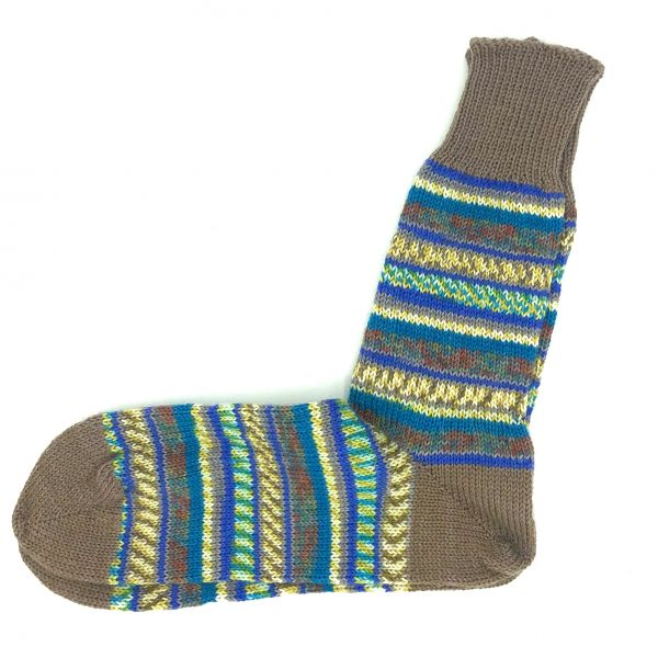 Fairisle Socks Size 11-12