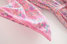 Load image into Gallery viewer, Pink Ditsy Kimono
