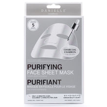 Load image into Gallery viewer, Charcoal Detoxifying Face Mask - 5 In Pack