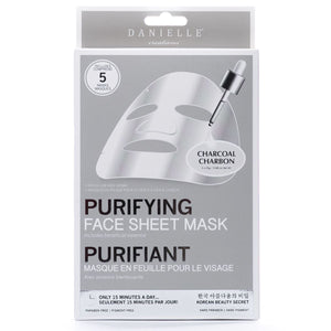 Charcoal Detoxifying Face Mask - 5 In Pack