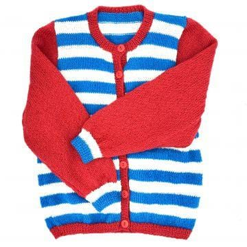 Stripe Cardigan 3-4Y