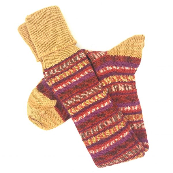 Fairisle Stockings Size 11-12
