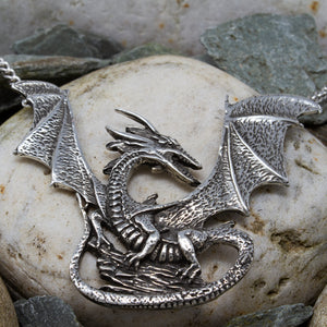 Rock Dragon - Necklace