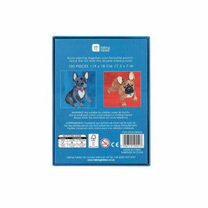 French Bulldog Double-Sided Puzzle