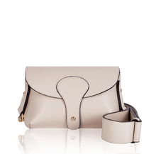 Load image into Gallery viewer, Saskia Leather Ecru Body Bag