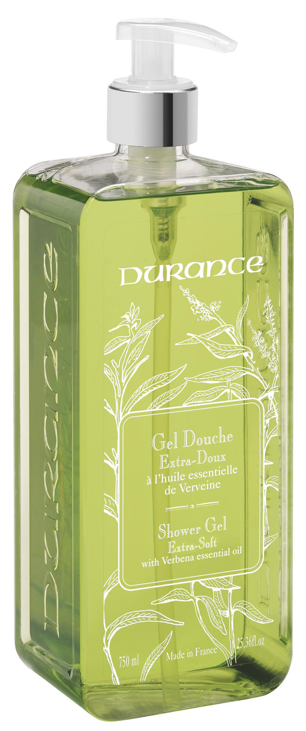 Durance Large Shower Gel 750ml with pump - Verbena