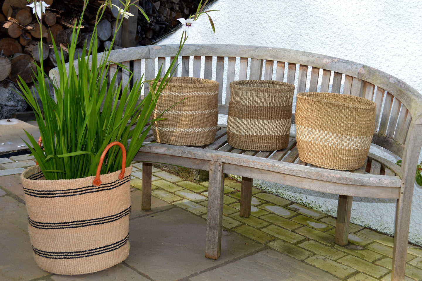 Sisal Bins, in Neutral Colours (group 2)
