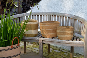 Sisal Bins, in Neutral Colours (group 4)