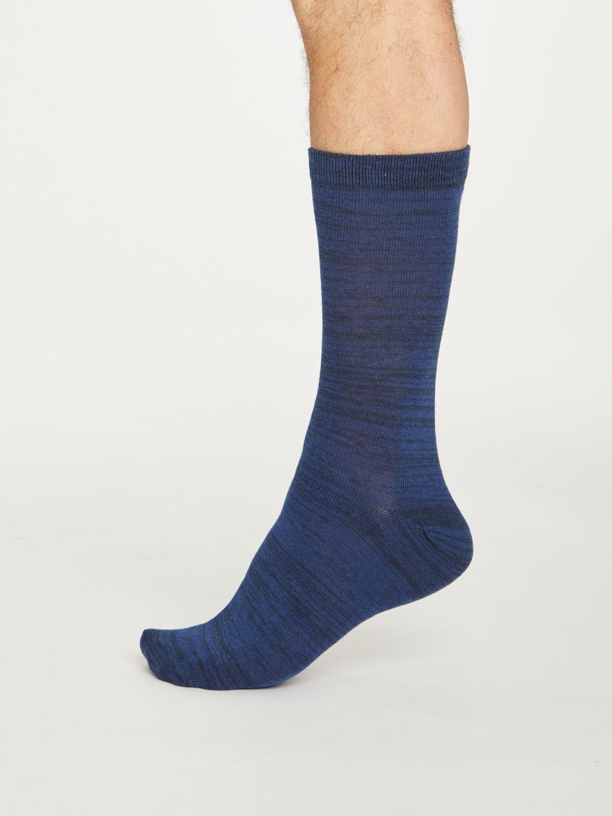 Lisketh Organic Cotton Socks in Midnight Navy by Thought, Size 7-11