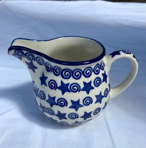 Stars and Swirls Large Creamer
