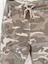 Load image into Gallery viewer, Stone Camo Ruched Joggers