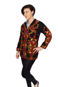 The Athena Jacket - machine embroidered 2250