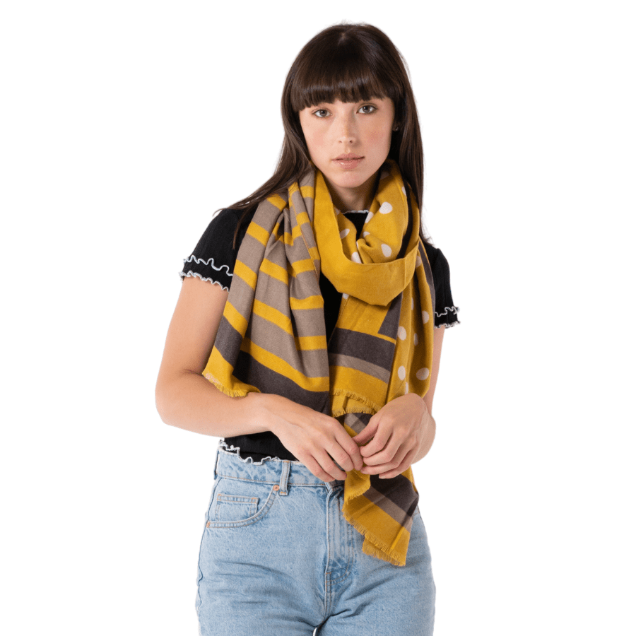 The Dots and Stripes Scarf 3060