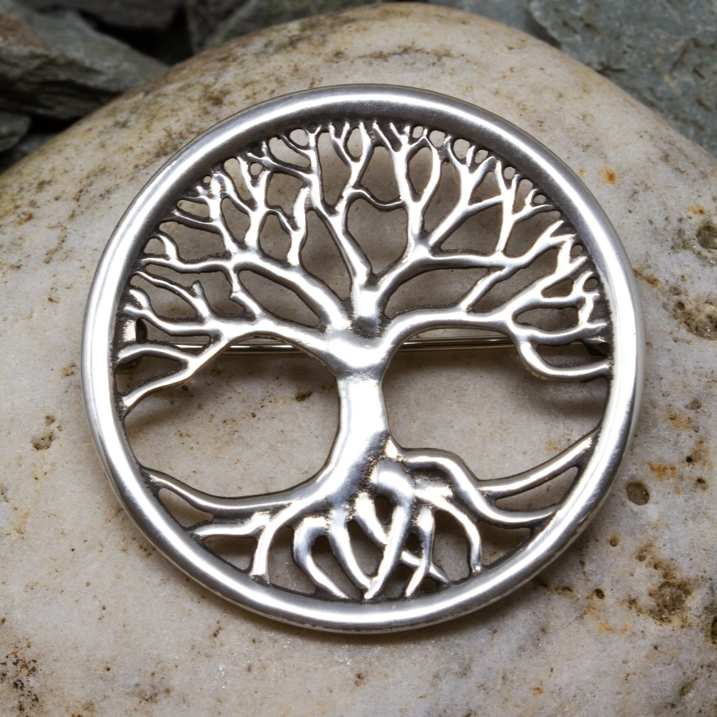 Tree of Life Brooch