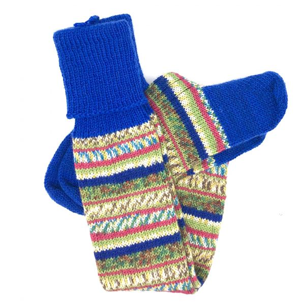 Fairisle Stockings Size 7-8