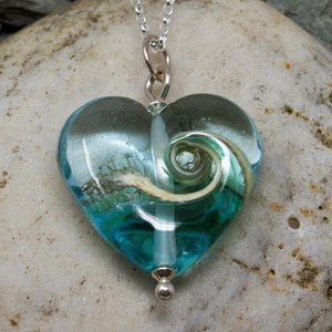 Turning Tide Heart Pendant