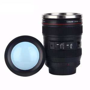 Camera Lens Vacuum Flasks